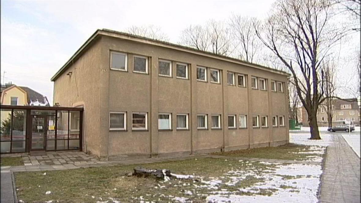 Tělocvična u základní školy v Krnově