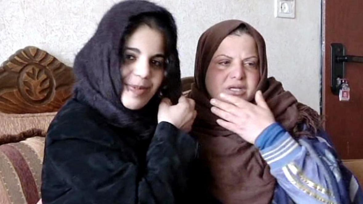 Bará Melhemová se svojí matkou