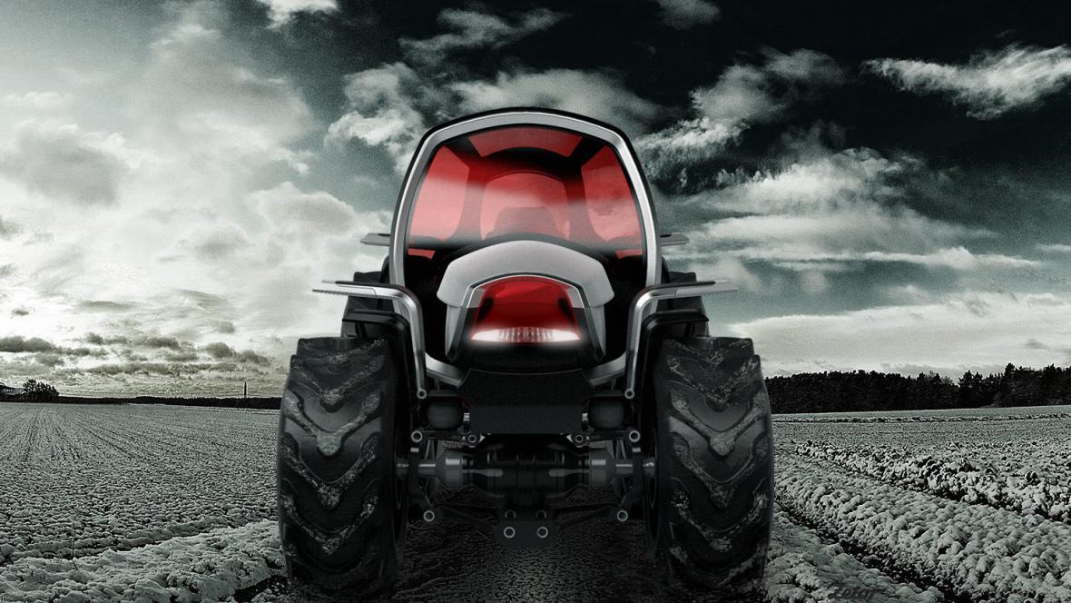 Návrh traktoru Davida Poláška
