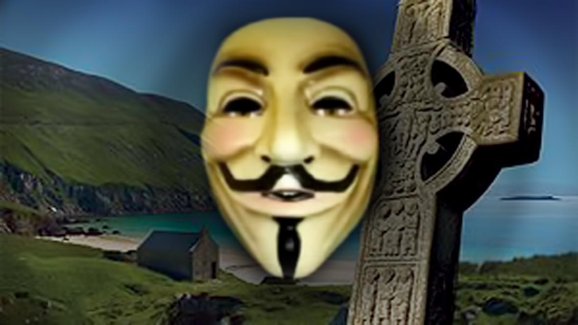 Hackeři z Anonymous napadli irské weby
