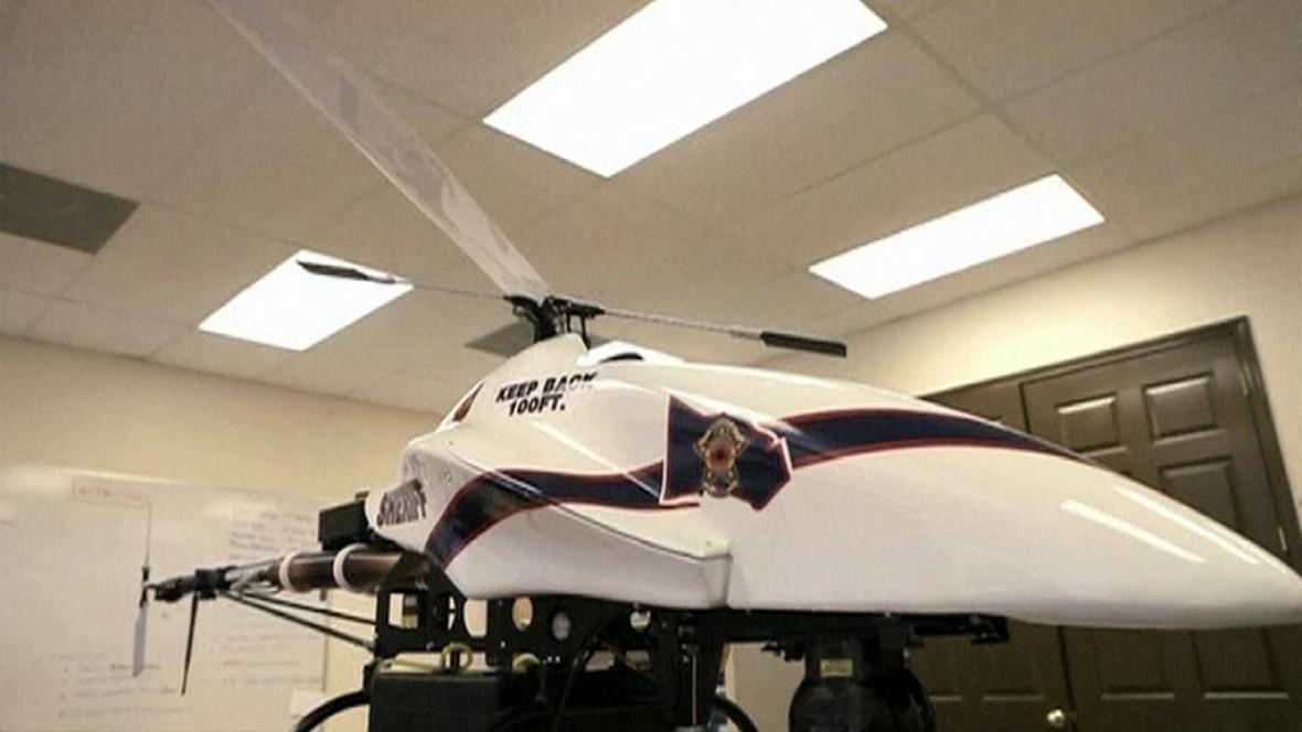 Policejní bezpilotní letoun
