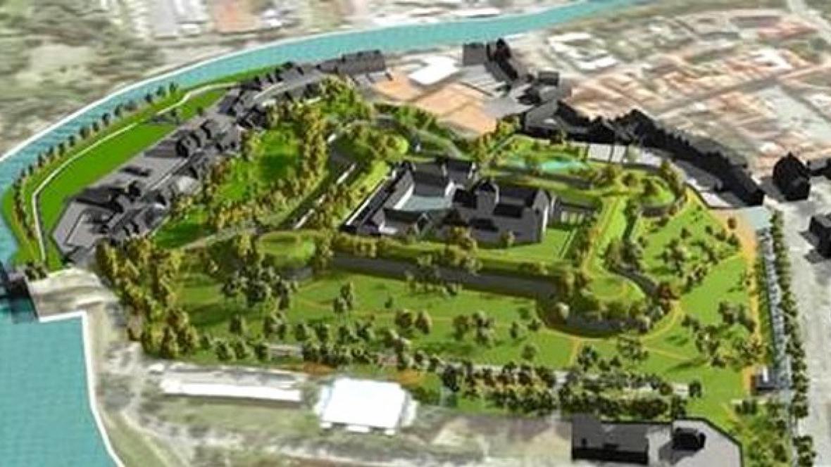 Návrh revitalizace pardubického parku