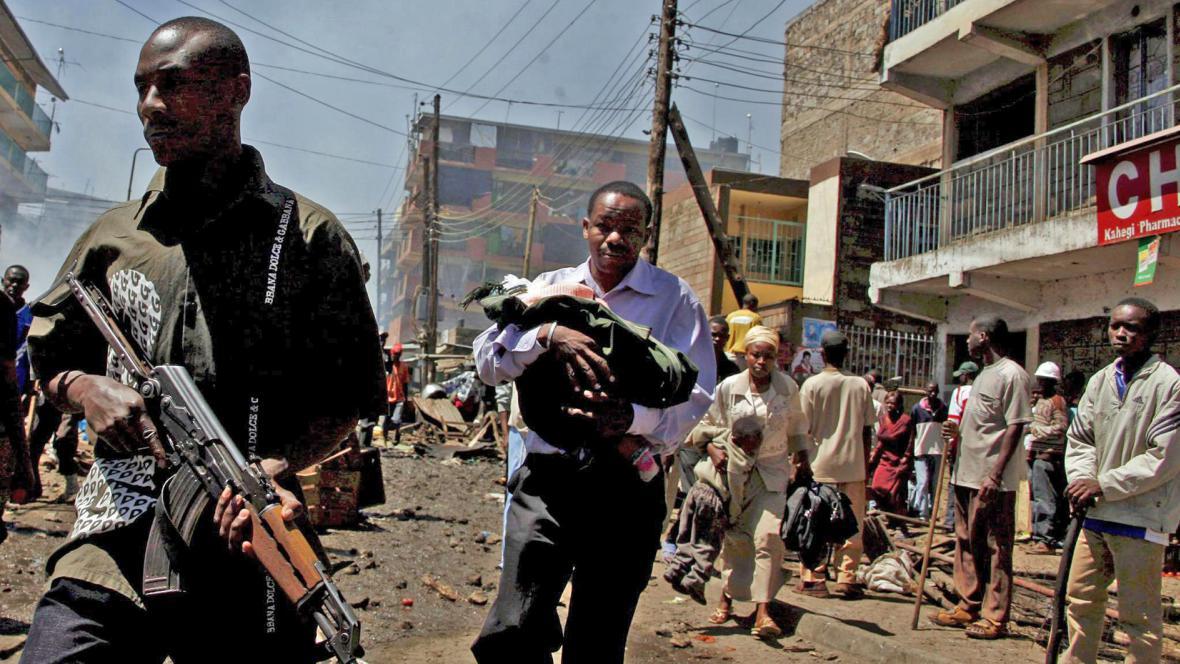 Povolební násilí v Keni v roce 2008