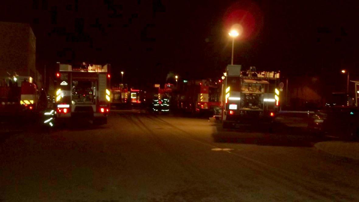 V Pohořelicích zasahovala padesátka hasičů