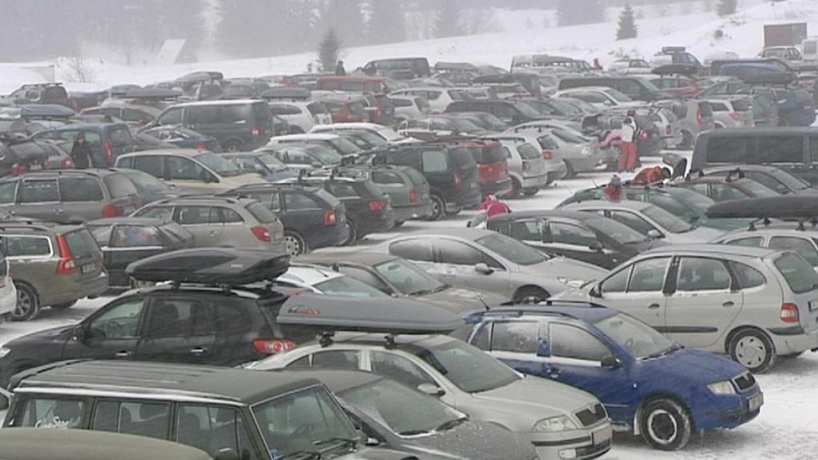 Horské parkoviště
