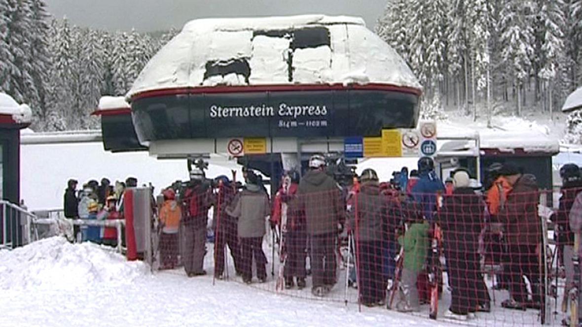 Lyžařský areál Sternstein