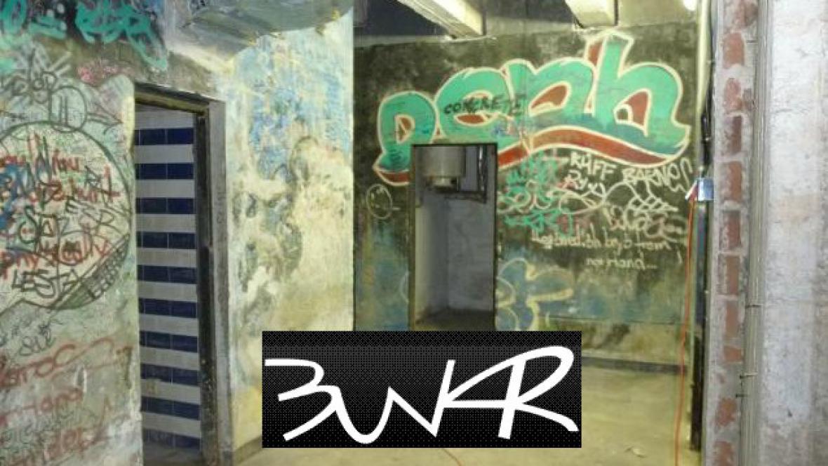Legendární rockový klub Bunkr