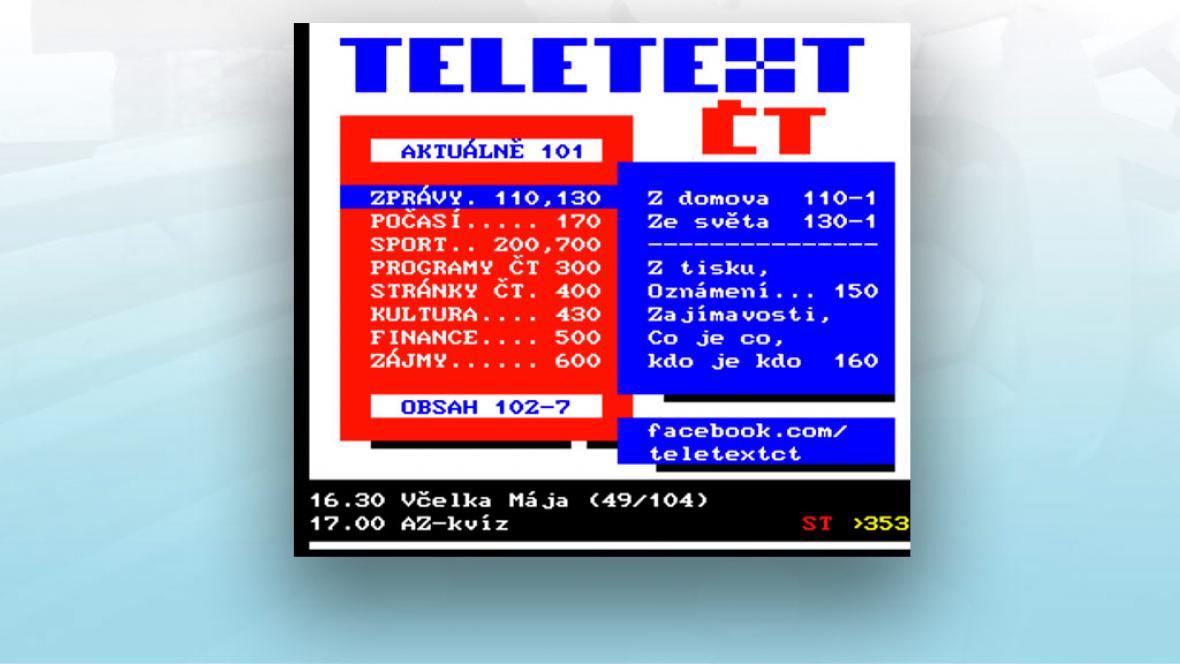 Teletext ČT