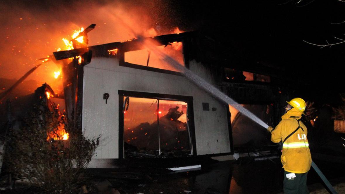 Požár v Nevadě