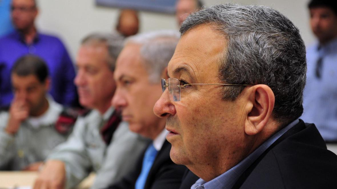 Izraelský ministr obrany Ehud Barak