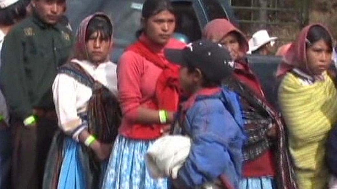 Mexičtí indiáni