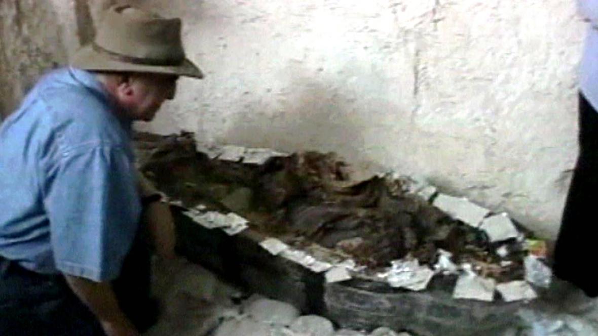 Nález mumie zpěvačky v Údolí králů