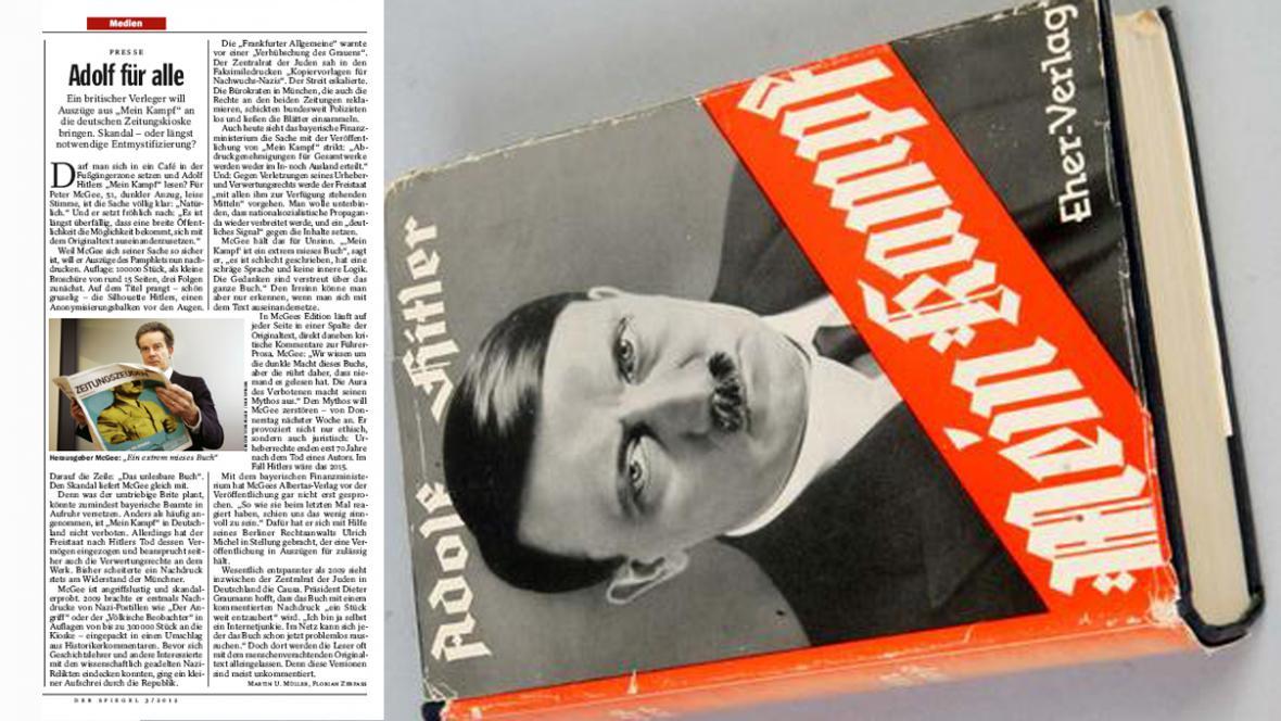 Der Spiegel o Mein Kampfu