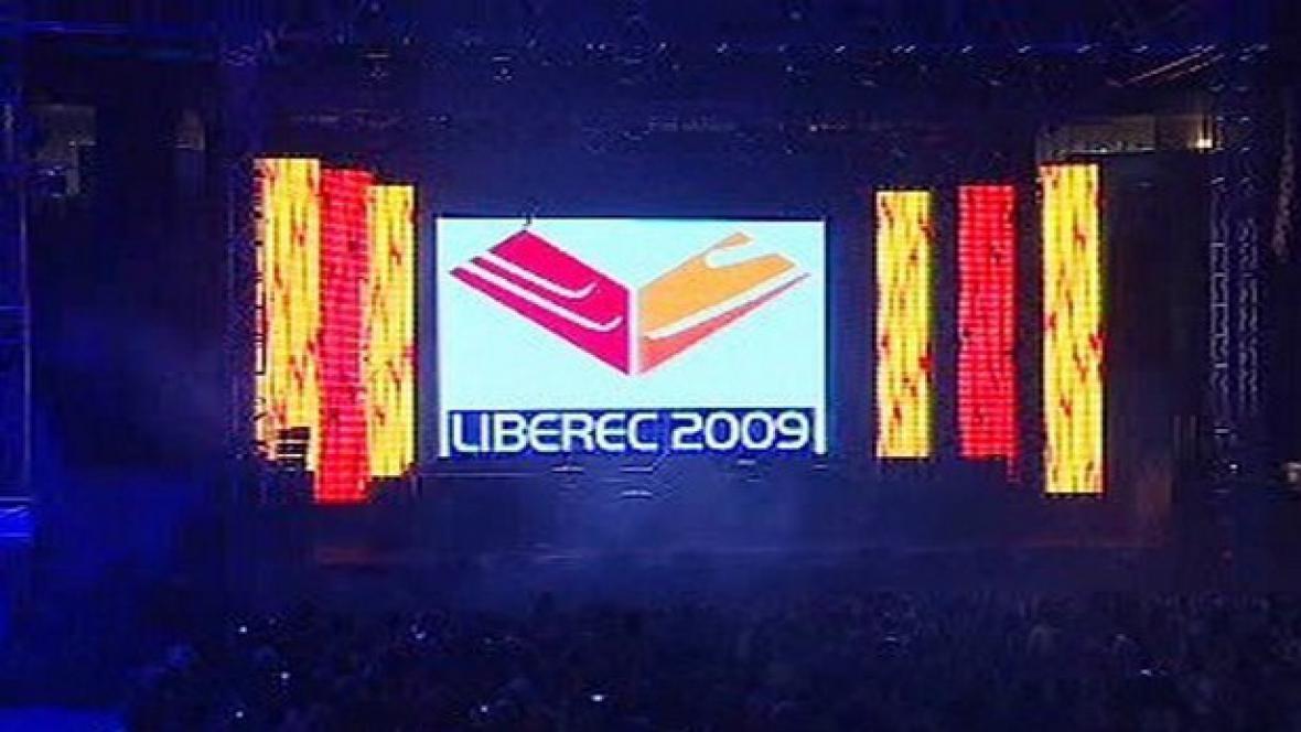 Logo lyžařského šampionátu v Liberci