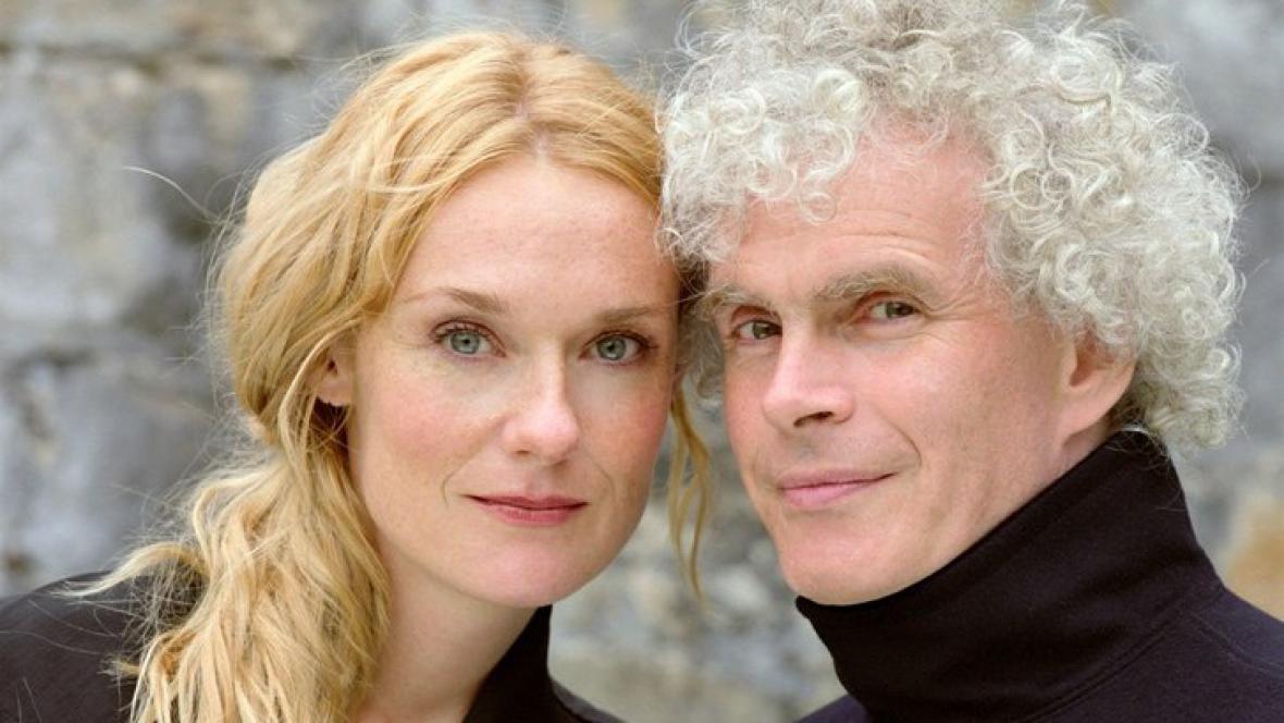 Magdalena Kožená a Simon Rattle