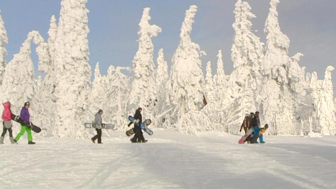 Snowboardistí