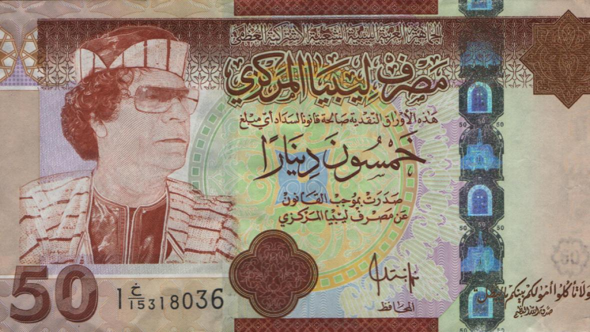 50dinárová bankovka