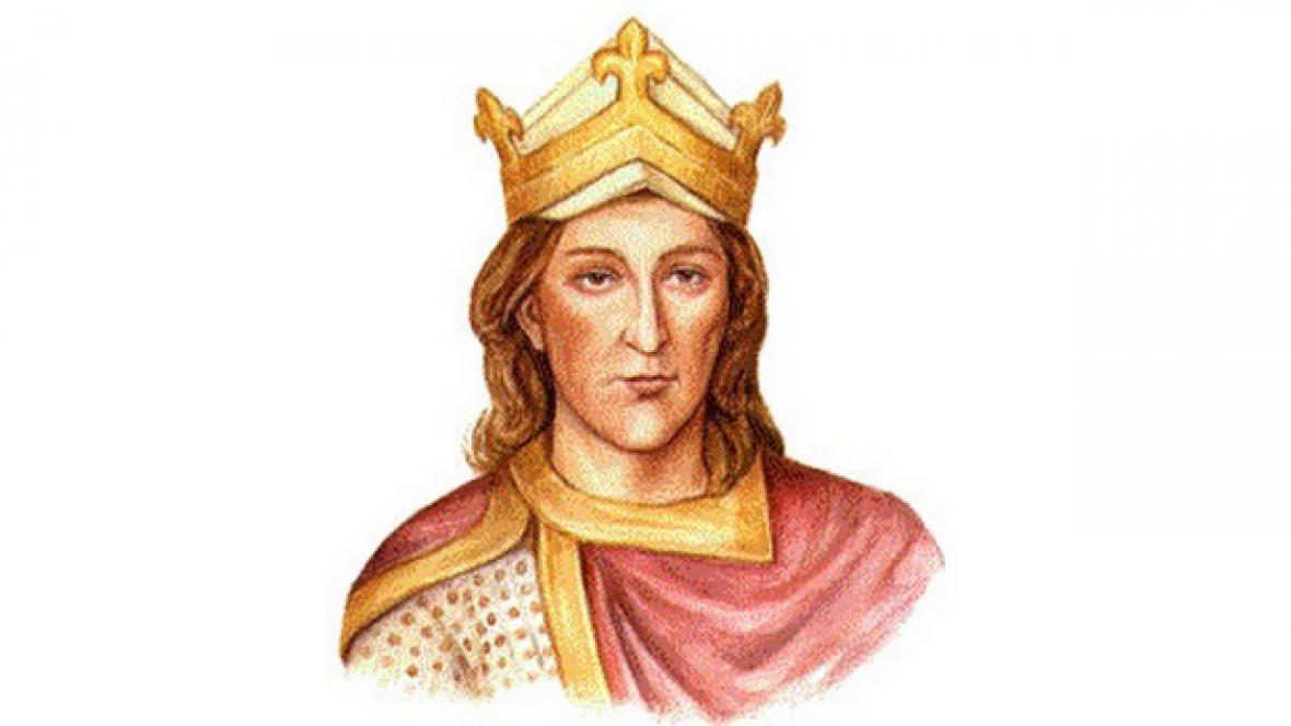 Český král Vratislav I.