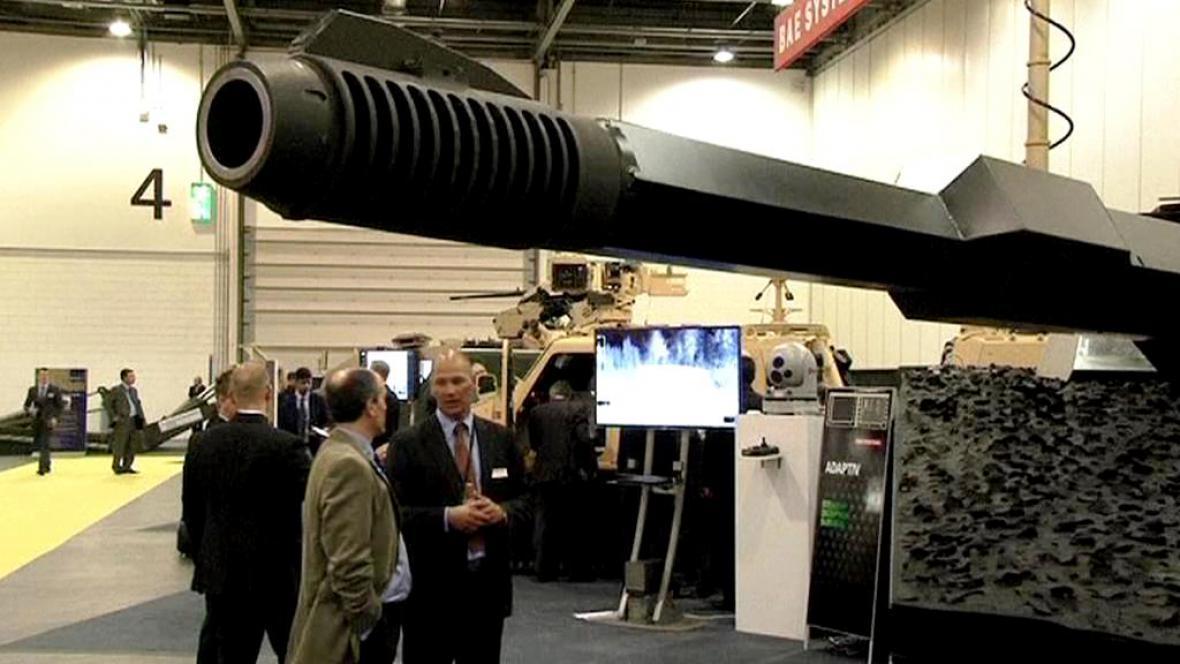 Zbrojní veletrh v Londýně