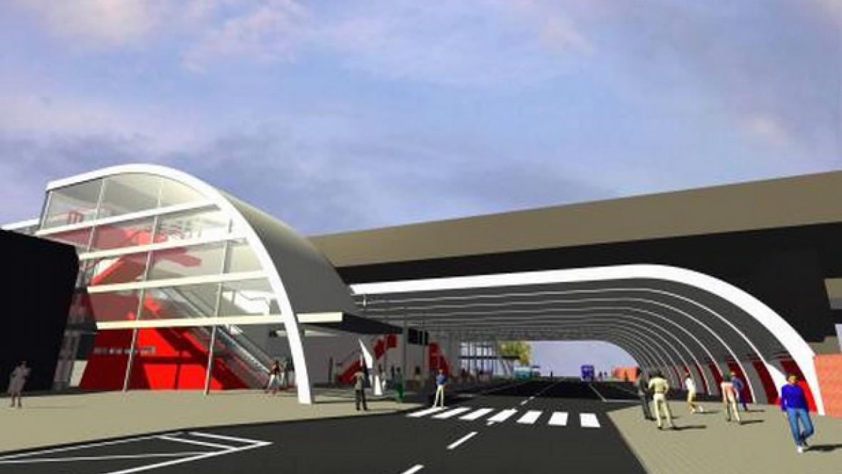 Plánovaná přestavba terminálu