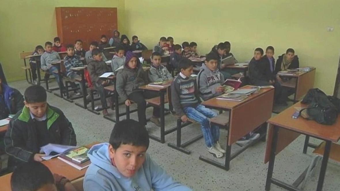 Libyjské děti