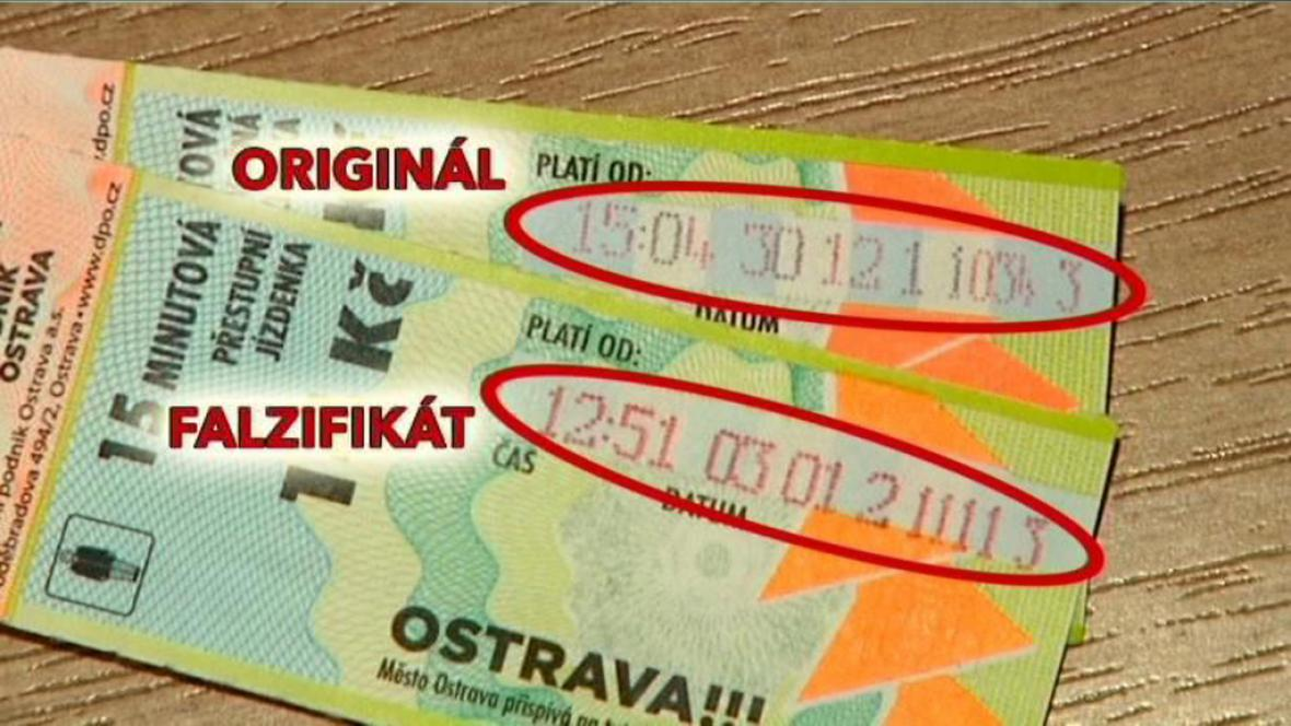 Podvody s jízdenkami