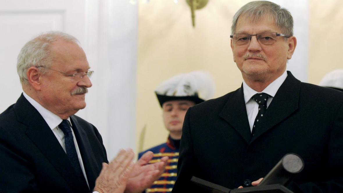 Ivan Gašparovič a Jozef Adamovič