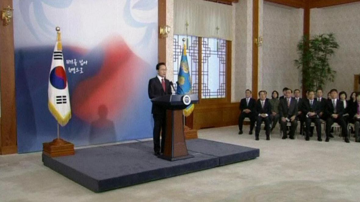 Jižní Korea chce se svým sousedem jednat