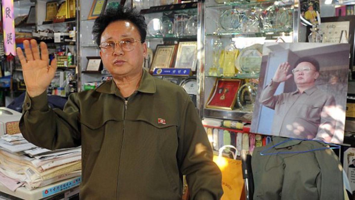 Dvojník Kim Čong-ila