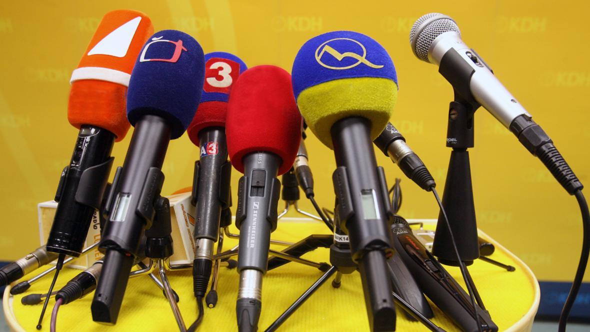 Mikrofóny - ilustrační foto