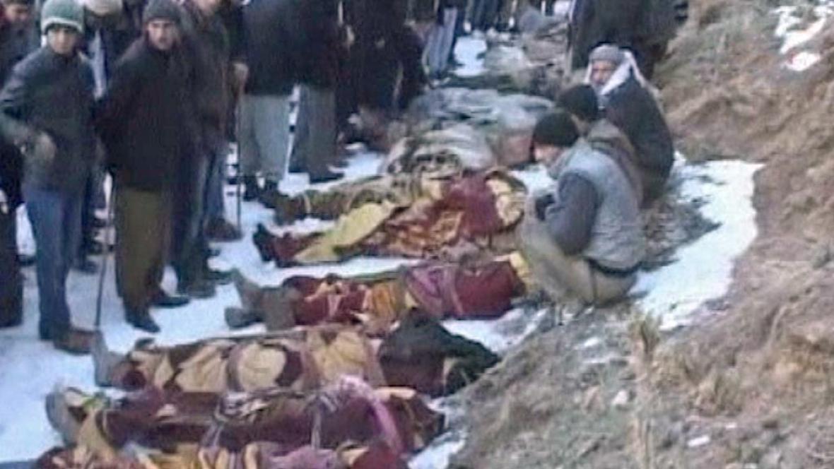 Oběti tureckého náletu