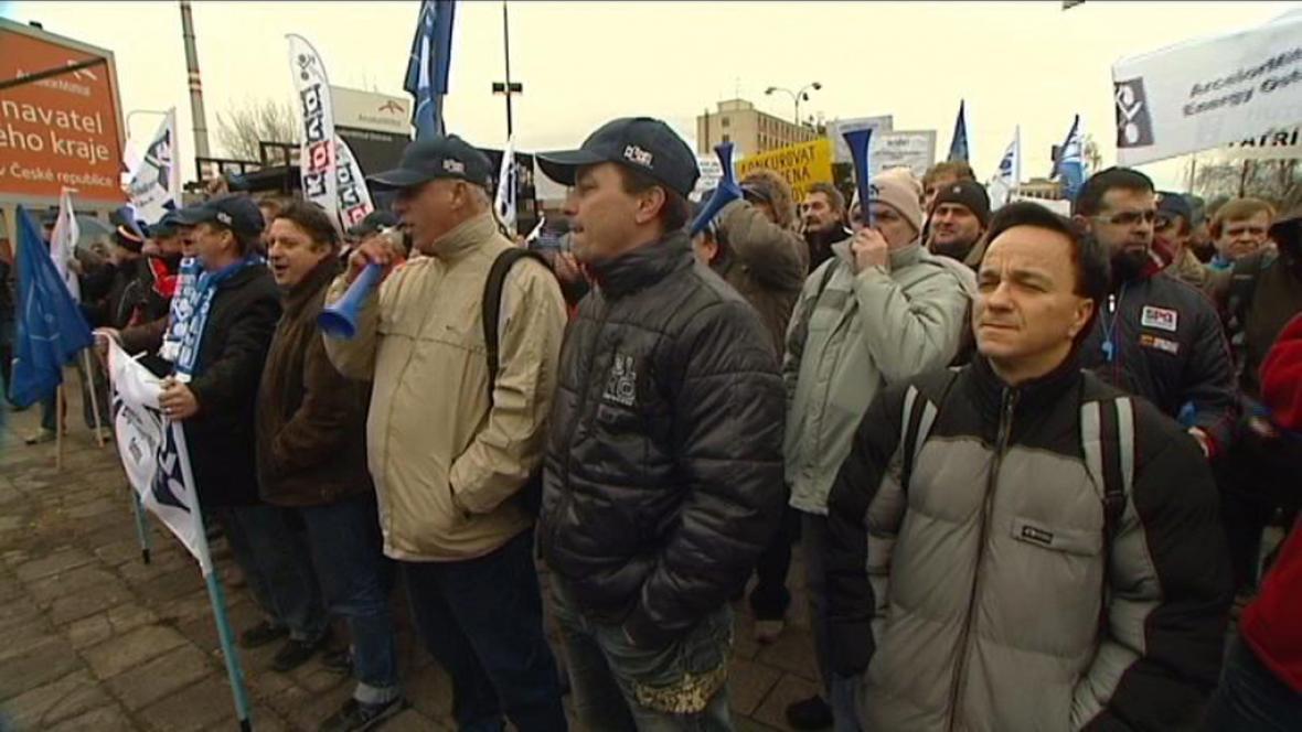 Protesty proti propouštění