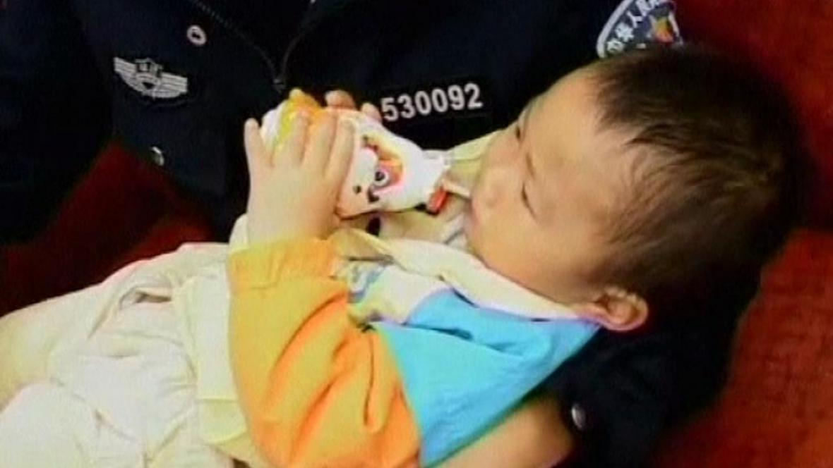 Obchod s dětmi v Číně