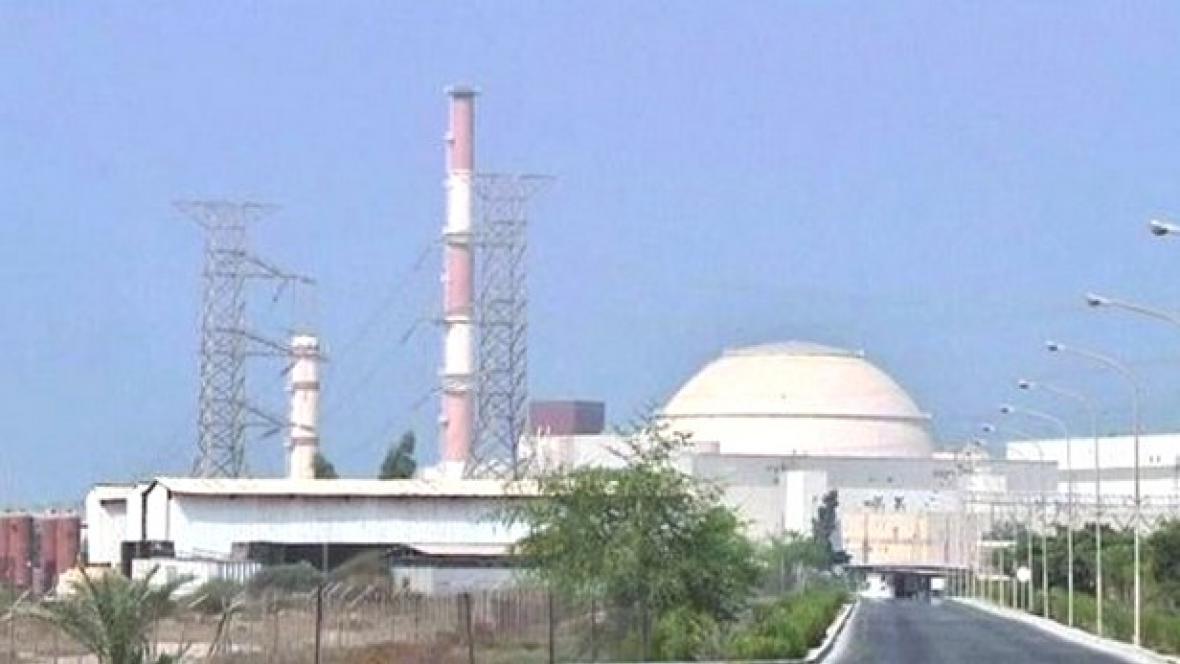 Íránský jaderný komplex v Búšehru