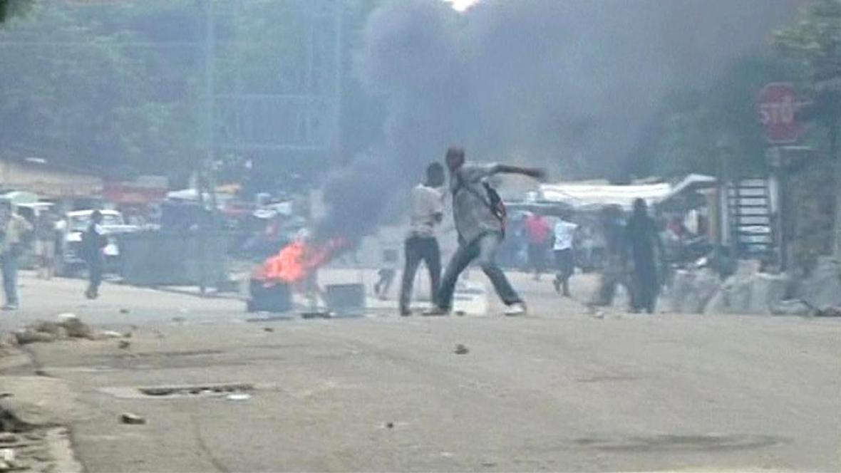 Nepokoje na Haiti