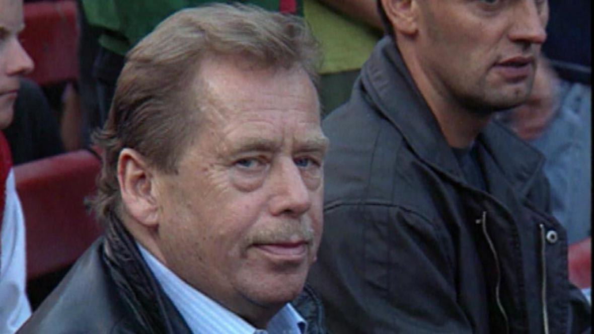 Václav Havel na festivalu v Trutnově