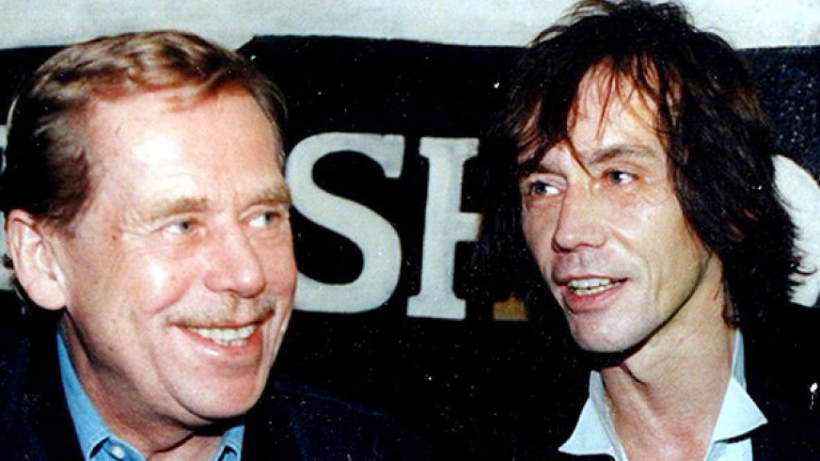 Václav Havel a Ivan Král