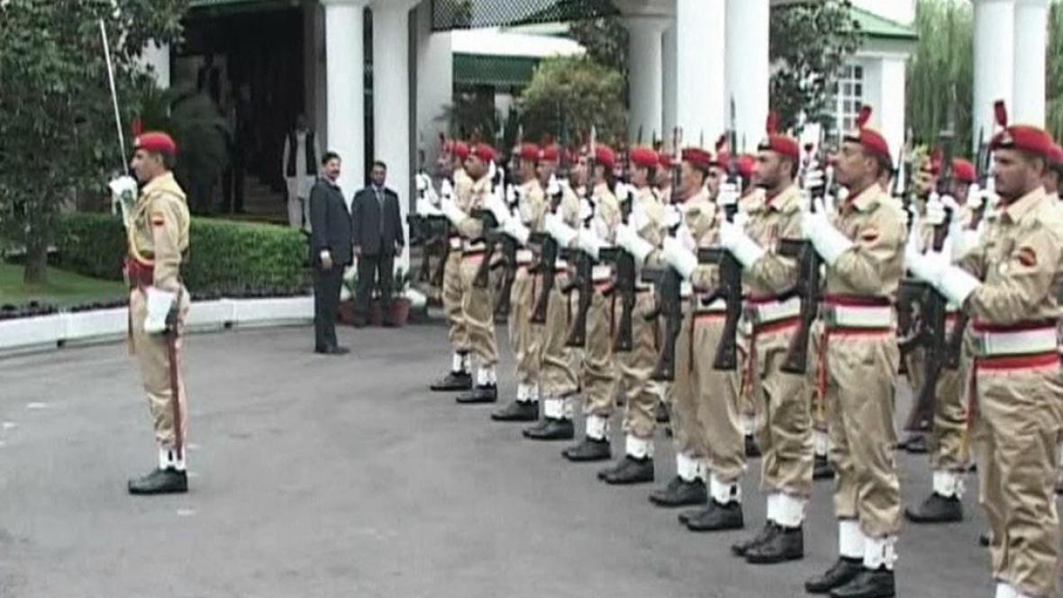 Pákistánská stráž