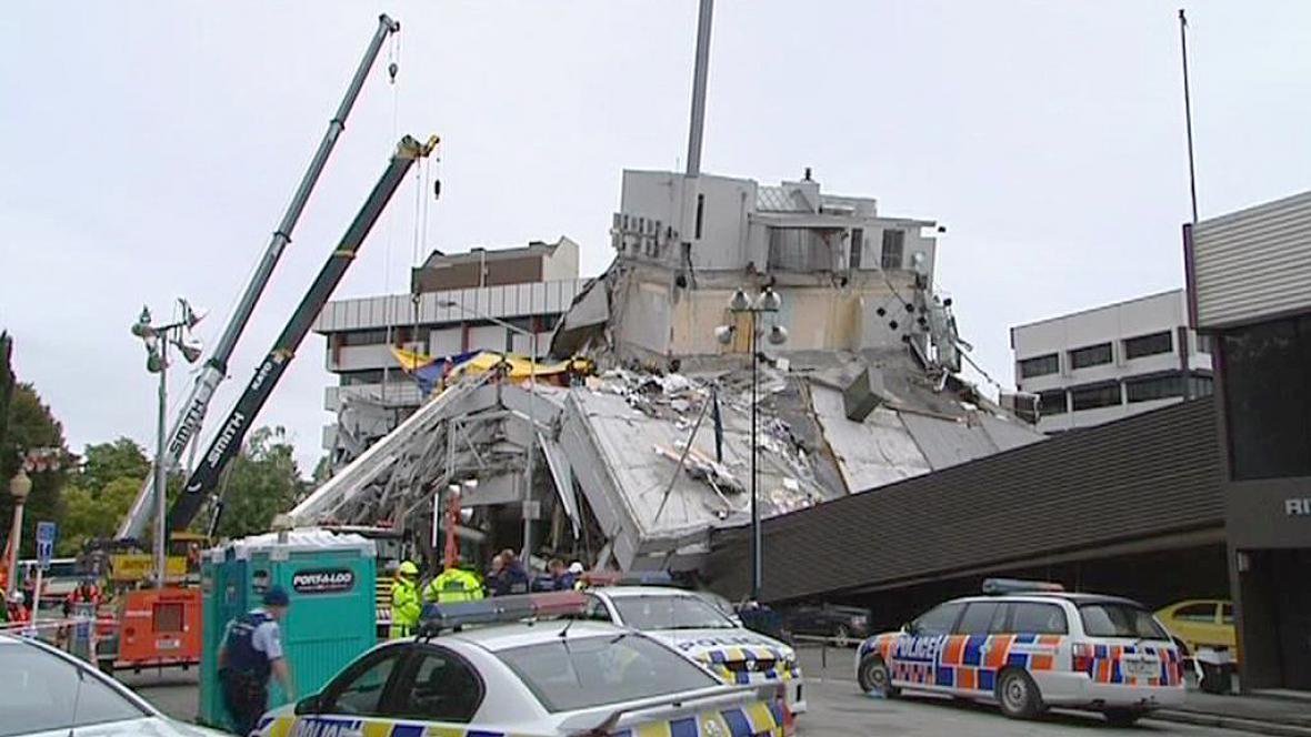 Únorové zemětřesení v Christchurchi