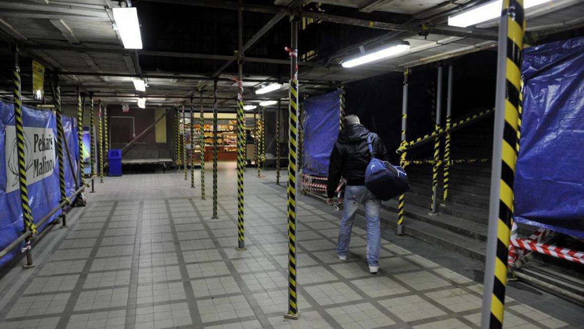 Rekonstrukce nádražní haly