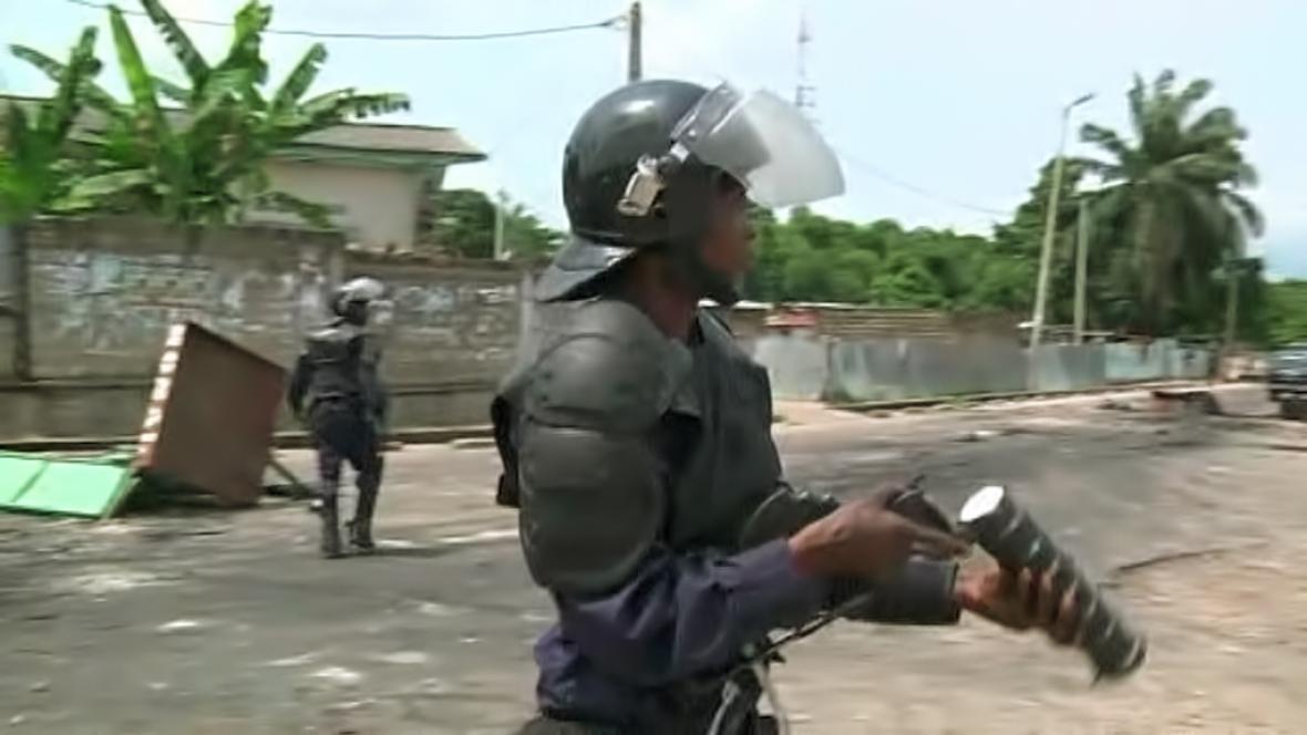 Policie v Kongu