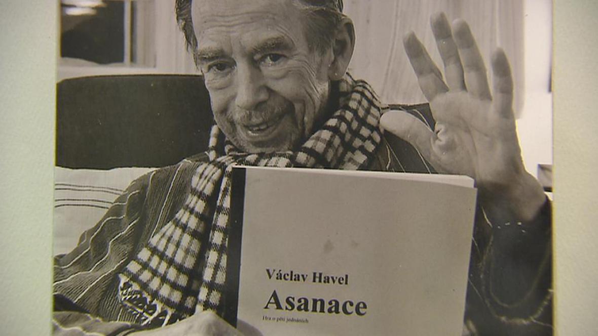 Václav Havel zdraví Divadlo Na zábradlí