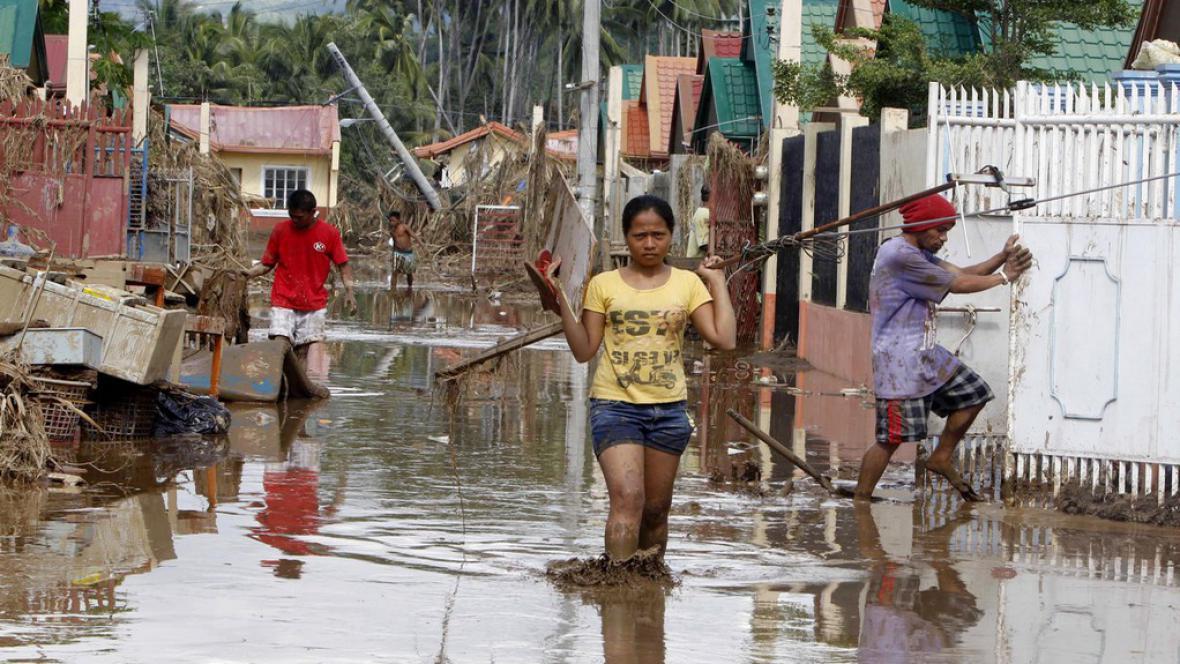 Záplavy na Filipínách