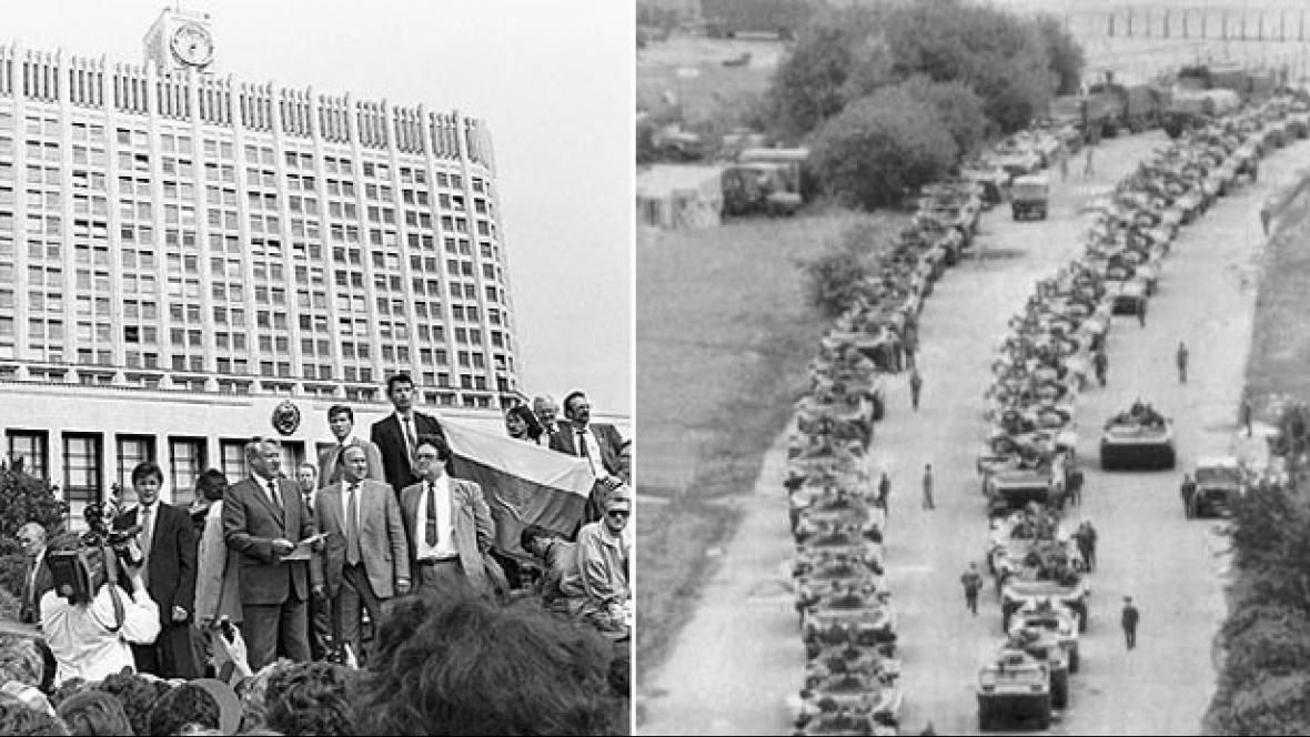 Rozpad SSSR - srpen 1991