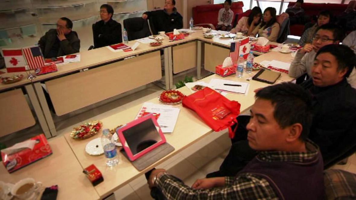 Přípravné emigrační kurzy v Pekingu