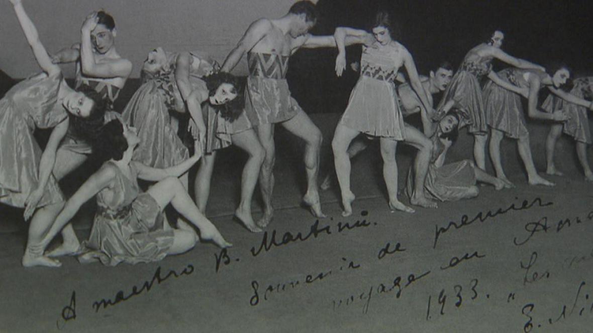 Fotografie z americké premiéry baletu Ruce