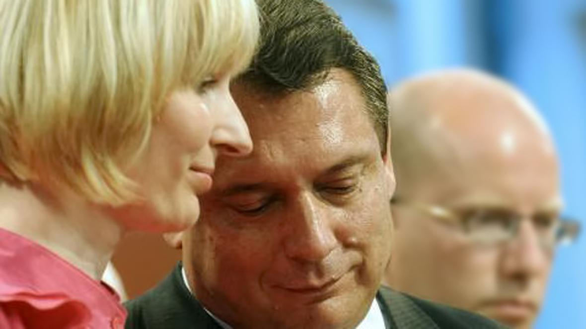 Manželé Paroubkovi