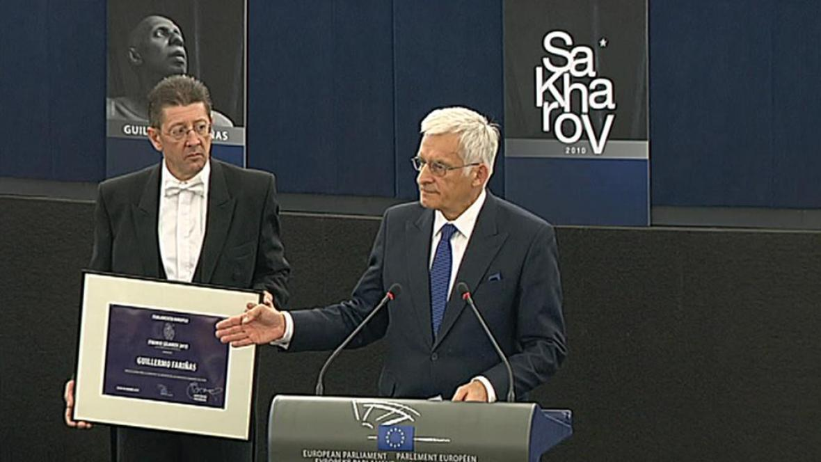 Udělení Sacharovovi cenu