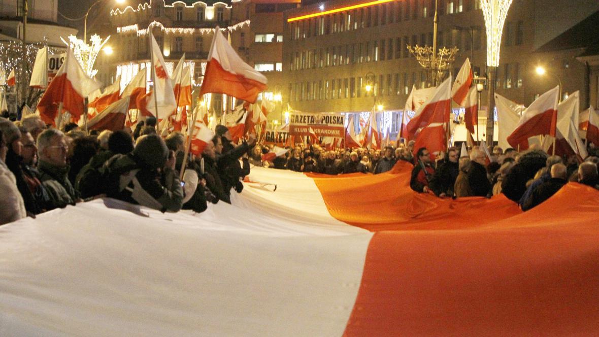 Pochod ve Varšavě