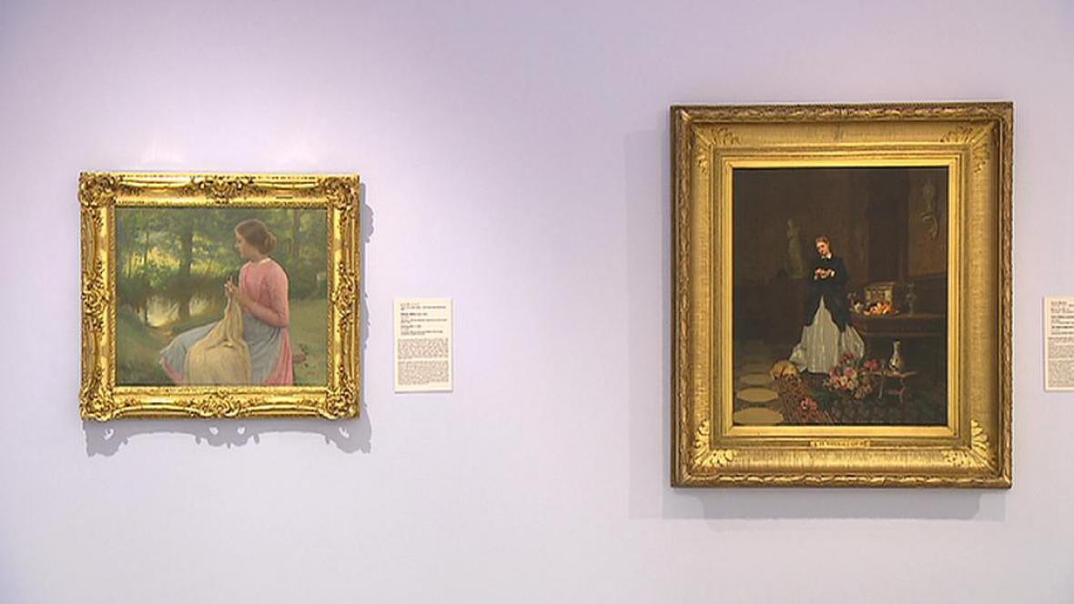 Výstava francouzských umělců 19. st. v NG